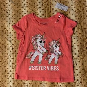 #Sister Vibes 12-18 month tee